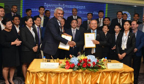 柬埔寨银行Acleda与Wing建立战略合作伙伴关系