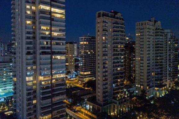 巴西圣保罗的天际线随着房地产繁荣而不断被刷新