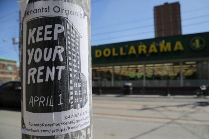 受冠状病毒影响收入下降,加拿大各地房客组织罢工拒付房租