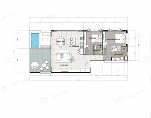 伊莉香酒店式公寓 -The Elysium Residences