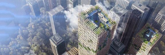 东京计划建造世界上最高的木制摩天大楼