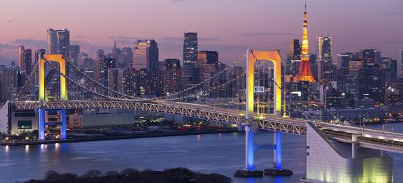 日本 8 个主要城市的办公室空置率不到 1%