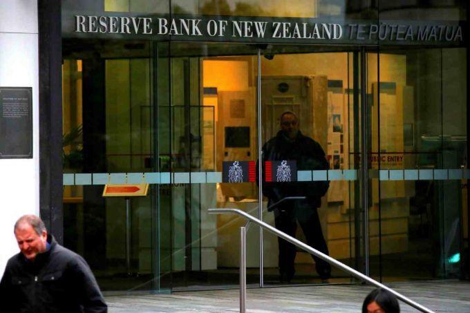新西兰央行行长表示目前不希望出现负利率