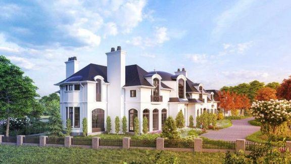 豪宅看看看:外形酷似法国古堡,尚未开工估价已高达 2400 万美元