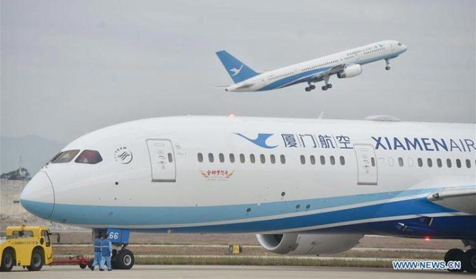 厦门航空新增柬埔寨西哈努克城航线