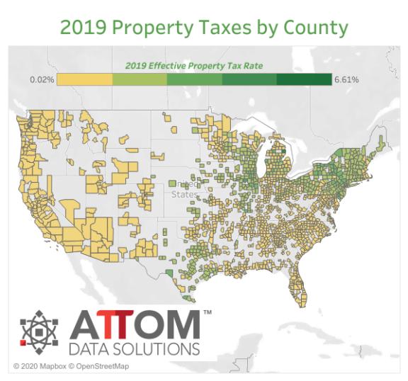 美国单户住宅房产税高达 3060 亿美元