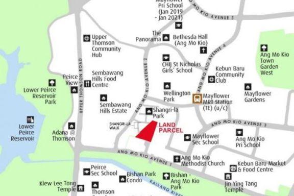 新加坡市建局、建屋局推出位于宏茂桥和 Tengah 的两块住宅用地