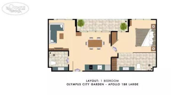奥林巴斯城市花园公寓 -Olympus City Garden