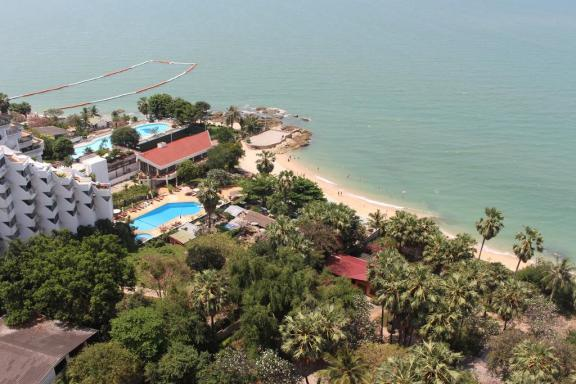 棕榈滩旺马特公寓 -The Palm Wongamat Beach Pattaya