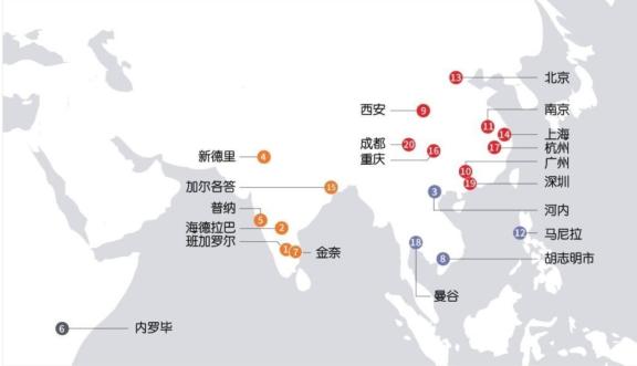 曼谷:世界最具活力城市排名 18 名!