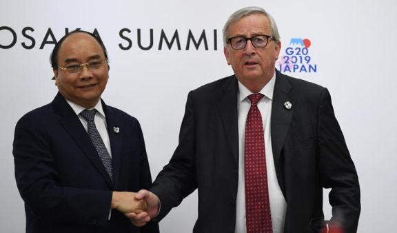 越南与欧盟签署自由贸易协定