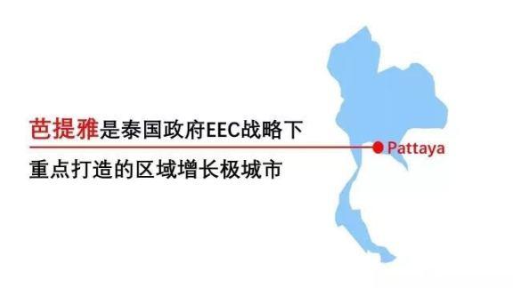 芭堤雅是泰国政府EEC战略