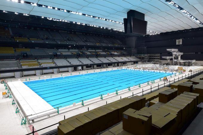 东京奥运会各大黄金竞技场已进入最后的润色阶段