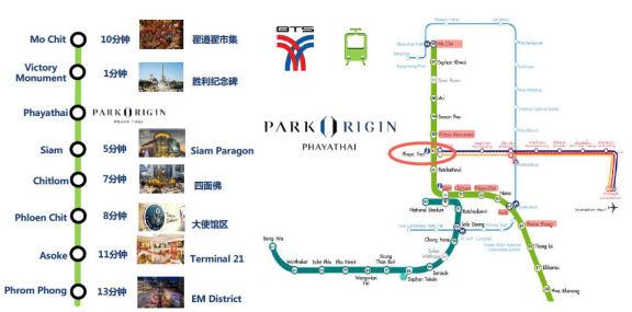 傲璟暹罗 -Park Origin Phayathai