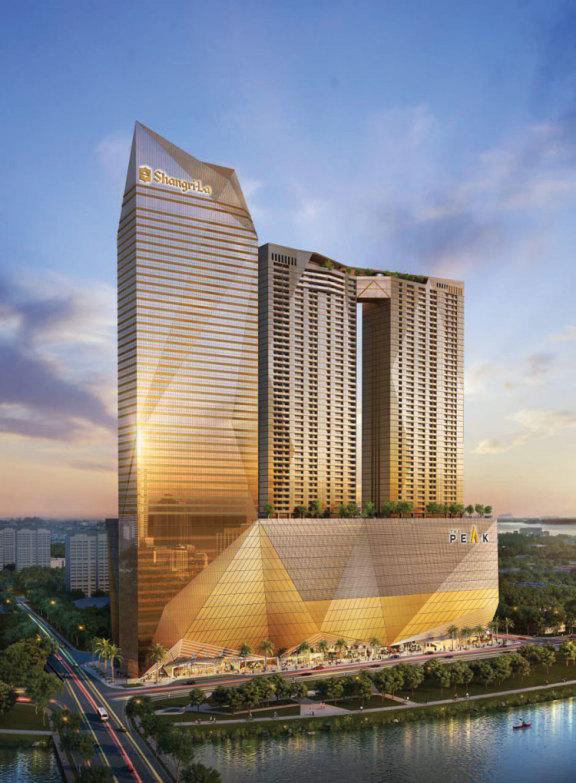 中铁城建集团成为金边项目 The Peak 的主要承建商