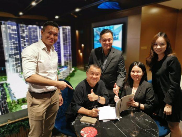 曾志伟在马来西亚的 M Vertica 购房