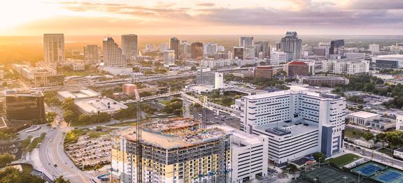 佛罗里达州的高科技走廊带动了当地办公市场的发展