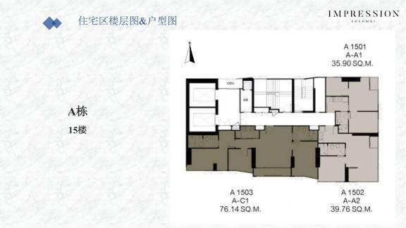 楼层户型图