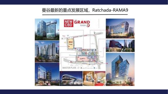 曼谷重点发展区域