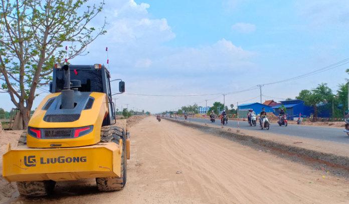 柬埔寨 3 号国道的建设带动了周边土地价格的上涨