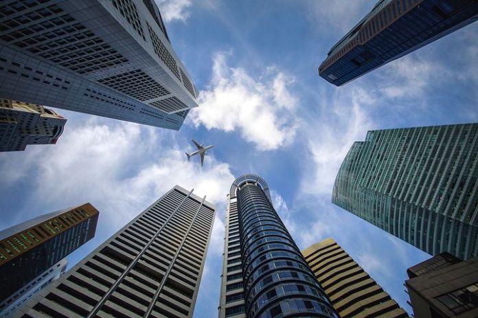 第三季度新加坡办公室租金下跌 4.5%