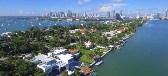 第三季度迈阿密豪宅销售量增长 55%