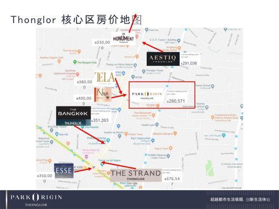 核心区房价地图