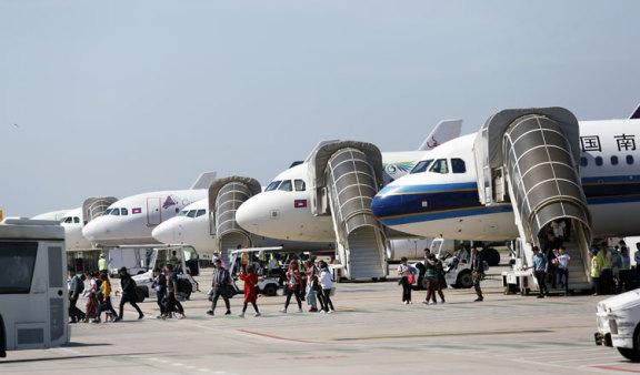 2019 年柬埔寨的航空客运量增长 12%