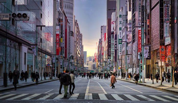 日本土地价格下降跌