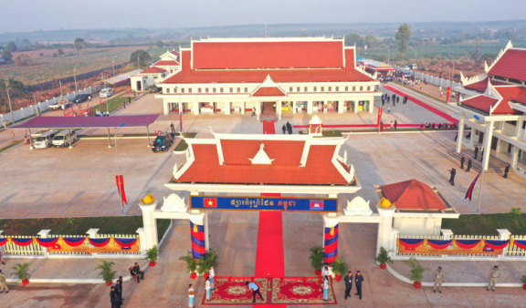 柬埔寨新宣布两个对外贸易口岸