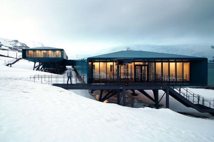 地球上最酷的建筑在南极洲