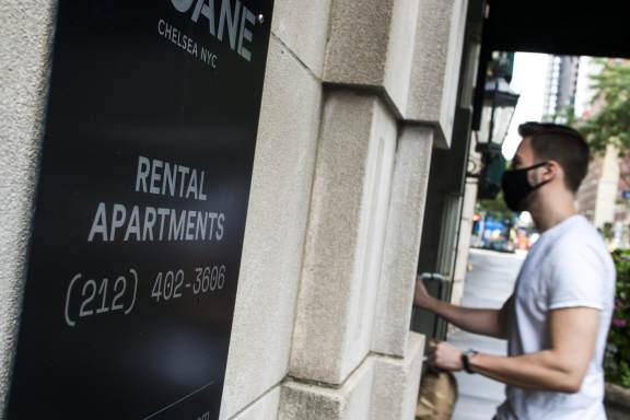 去年 12 月曼哈顿公寓租金上涨近一倍
