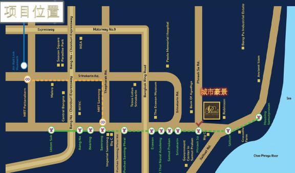 城市豪景公馆 -The Resident Sukhumvit-Samutprakan