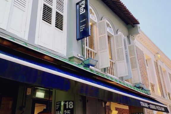 新加坡 Tanjong Pagar 的一处商铺待售,指导价 1500 万新元
