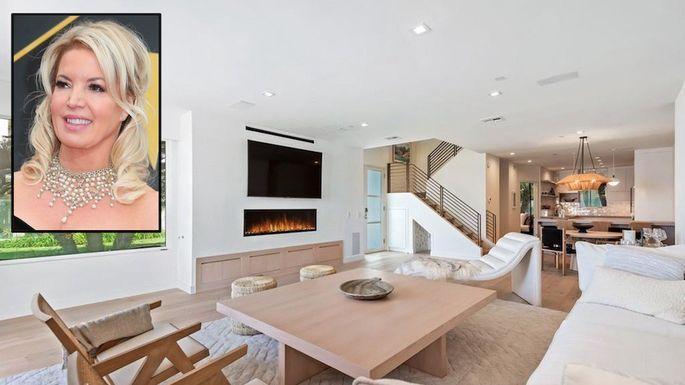 湖人队女老板珍妮•布斯出售加州豪宅,挂牌价 310 万美元