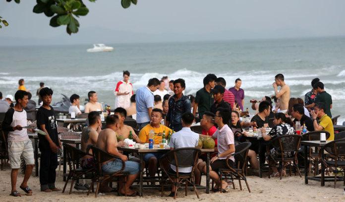 2019 年,柬埔寨沿海游客明显增加