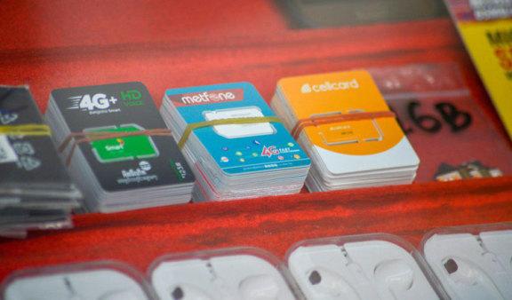 柬埔寨:Sim 卡和互联网用户上升