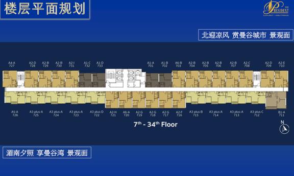 楼层平面规划