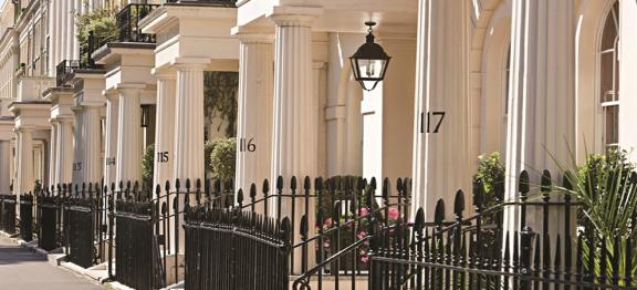 伦敦黄金地段房价自高点下跌 17%