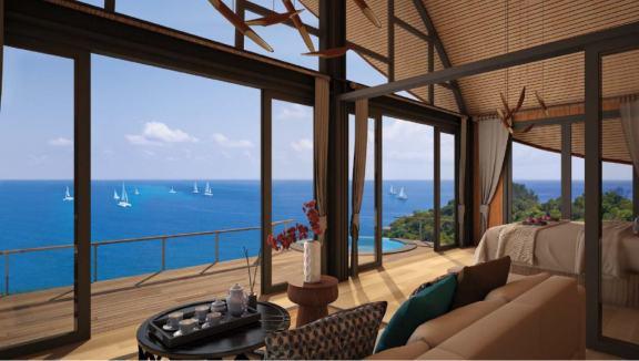 芭东半山独栋小木屋别墅 -Patong Bay Ocean View Cottage