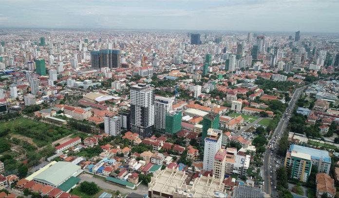 截止 2020 年第三季度,柬埔寨公寓的销售价格下降 32%