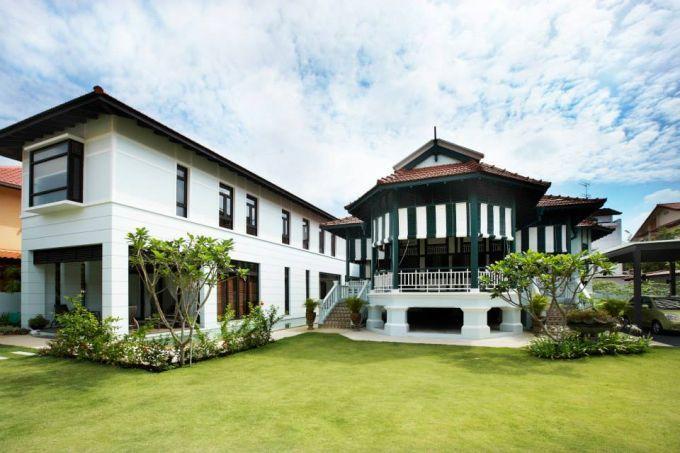 新加坡一栋二战前平房上市,售价 9300 万